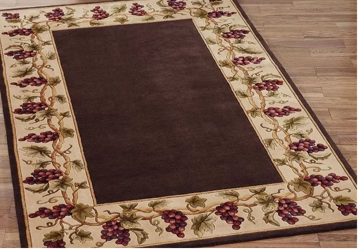 decorative floor mat