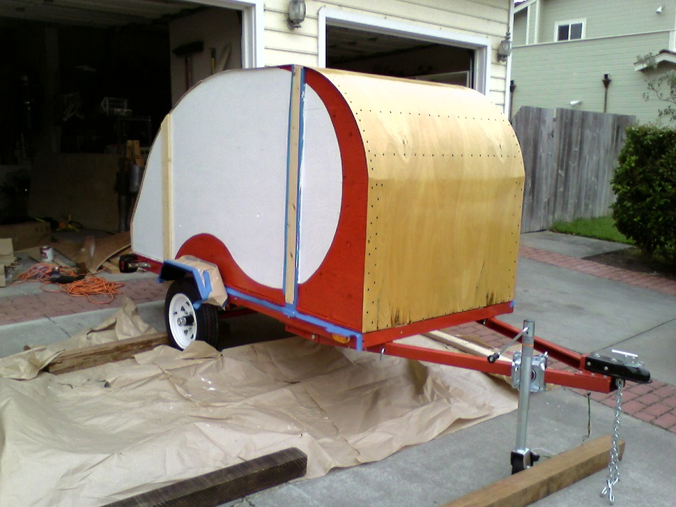enclosed utility trailer