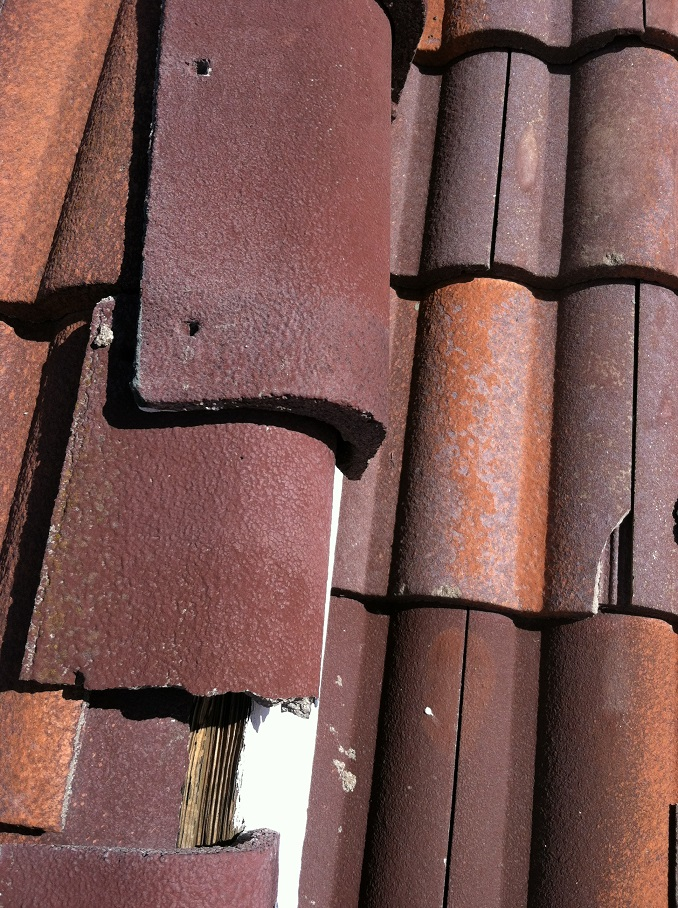 red roof ceramic tiles