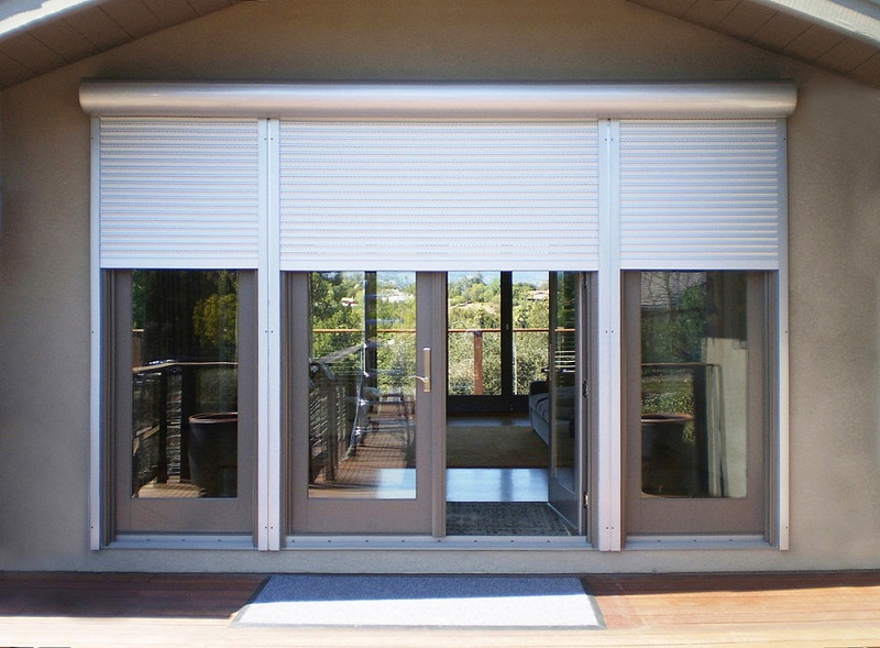 electric window door and shade blinds