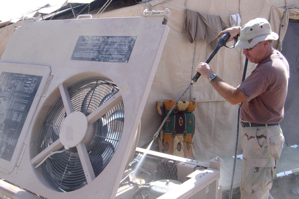 air conditioning system cleaning