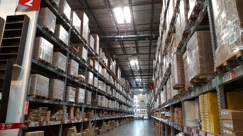 a full warehouse
