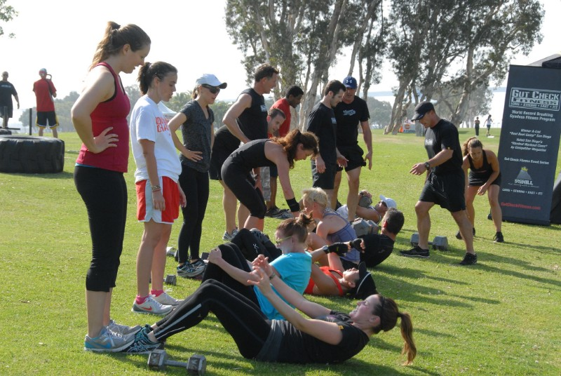 boot camp exercise drills